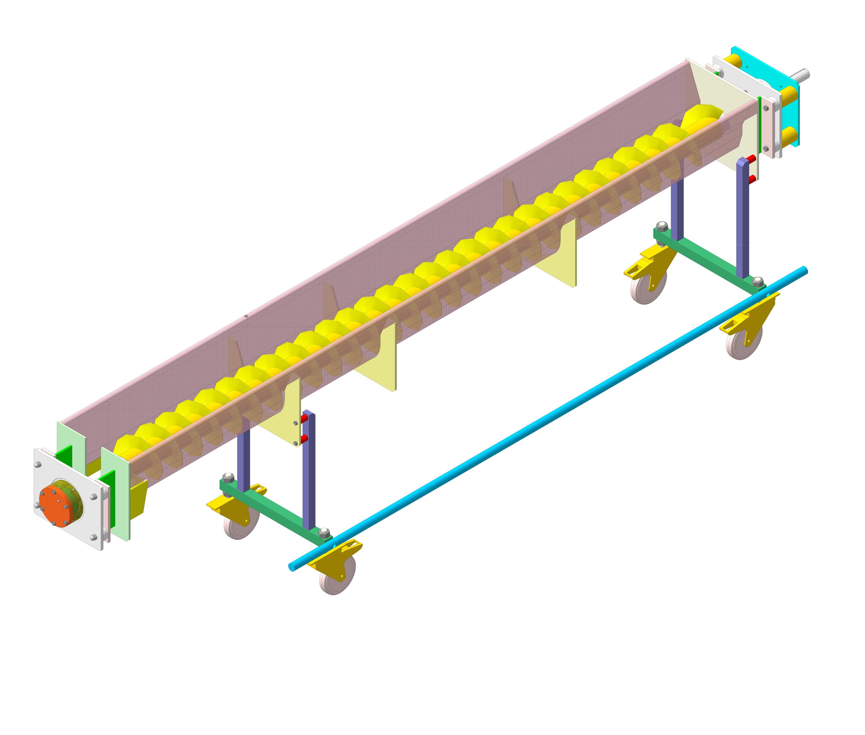 Винтовые конвейеры назначение устройство конвейер обработки крс