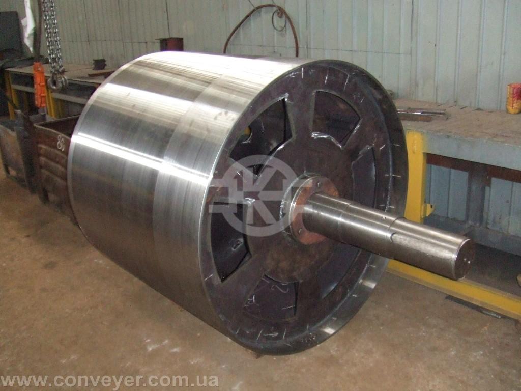 Ведомый барабан на конвейере ремкомплект транспортера